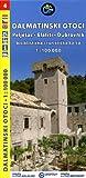 Kroatien – Dalmatinischen Inseln #4 Peljesac, Elafiti, Dubrovnik – Radkarte & Wanderkarte 1:100.000 Picture