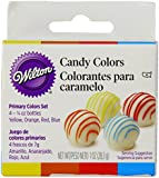 Yellow/Orange/Red/Blue Candy Colors 1/4 Ounce 4/Pkg W1913-1299