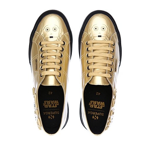 SUPERGA SNEAKERS C-3PO DROID GOLD-BLACK (43)