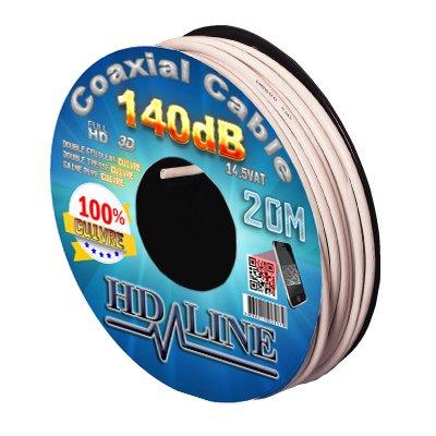 HD-LINE 20m 140dB 100% Kupfer