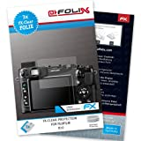 AtFoliX FX-Clear screen-protector for Fujifilm X10 (3 pack) - Crystal-clear screen protection!