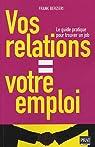 Vos relations = Votre emploi par Berzieri