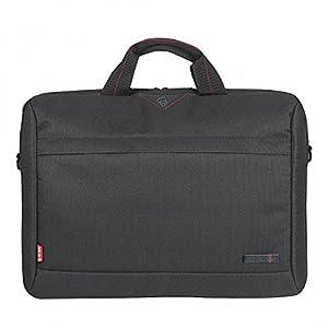 Tech Air  1202 Toploading Modern Classic Laptop Bag for 15 - 15.6-Inch  Laptops - Black