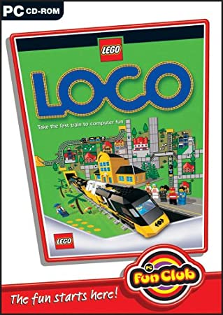 PC Fun Club: LEGO LOCO (PC CD)