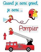 Stickers Pompiers 50cm x 70cm