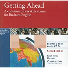 Getting Ahead Learner's audio CD: A Communication Skills Course for Business English (Cambridge Professional English)