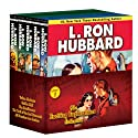 Exciting Exploration Collection Audiobook by L. Ron Hubbard Narrated by Daley Daley, Owen Sun, Jason Faunt, Keli Daniels, Brooke Bloom, Thomas Silcott, Tait Ruppert, Crispian Belfrage