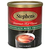 Stephen&#039;s Gourmet Hot Cocoa, Chocolate Mint Truffle, 16-Ounce Cans (Pack of 6)