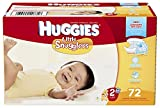 Huggies Little Snugglers Diapers Disney Design Size 2 – 72 CT
