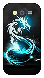 Dot Print Back Cover For Samsung Galaxy Grand Neo GT-I9060 Neon Dragon Printed Case