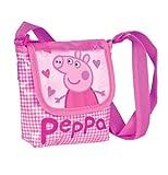 Bolso bandolera corazones Peppa Pig
