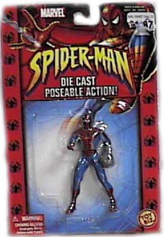 Spider-Man with Web Glove Diecast Figure - 1