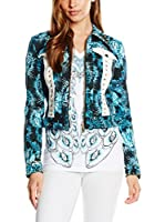 Just Cavalli Chaqueta Azul ES 36 (IT 40)