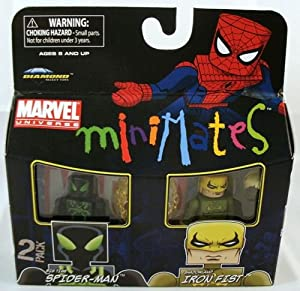 Marvel Minimates 2-Pack Big Time Spider-Man & Shadowland Iron Fist