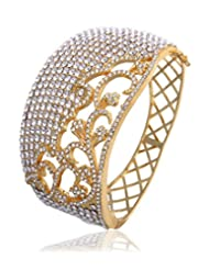 Eclat Brass Gold Plated Bracelet For Women New Fashion Jewelry (811486G)