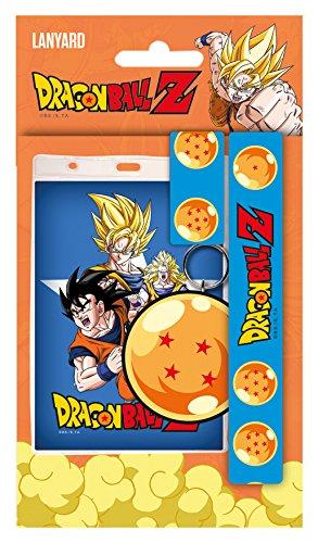 Portachiavi Dragonball Z Lanyard with Rubber Keychain Goku GYE