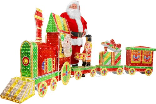 Everything For Christmas: Outdoor Christmas Train Decoration