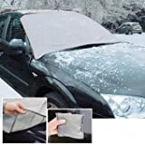 MAGNETIC CAR WINDSCREEN COVER FROST ICE SHIELD SNOW DUST PROTECTOR SUN