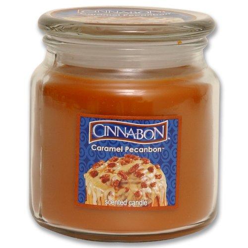 Cinnabon By Hanna's Caramel Pecanbon Soy Candle