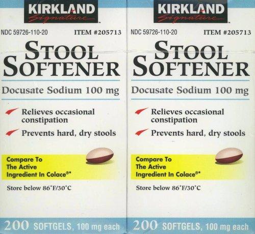 Colace Dosage Kirkland Signature Stool