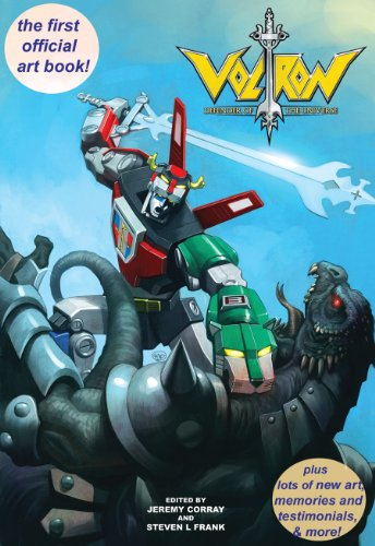 Voltron: Defender of the Universe Official Art Book Plus