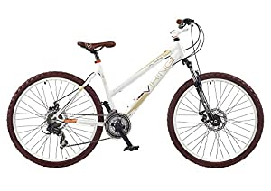 Viking Women's Valkyrie Mountain Bike - White, 18-Inch