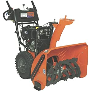 Husqvarna 1827SB 27-Inch 414cc OHV Gas Powered Two-Stage Snow Thrower With Variable Speed, Remote Chute Rotation & Electric Start 9619300-47 (Discontinued by Manufacturer)