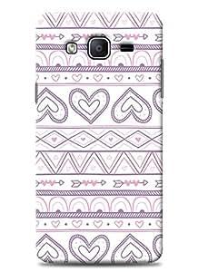 SKIMIJO Designer Printed case Valentine for Samsung Galaxy On7