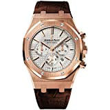 Audemars Piguet Royal Oak Chronograph Automatic 18 kt Rose Gold Mens Watch 26320OR.OO.D088CR.01 Rating