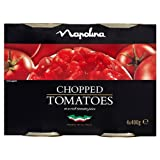 Napolina Chopped Tomatoes 4 x 400g