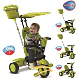SmarTrike 4 in 1 Spirit with Touch Steering - Green