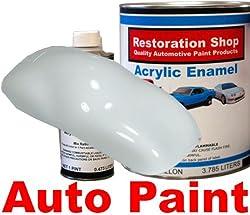 Arctic White QUALITY ACRYLIC ENAMEL Car Auto Paint Kit