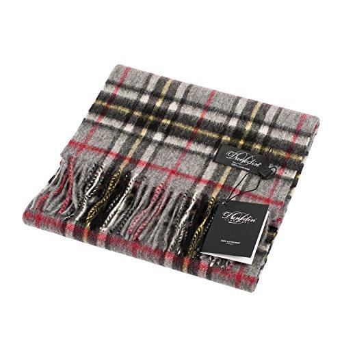 dunedin-100-lambswool-unisex-scottish-tartan-multicolor-scarf-thomson-muted-grey-dress-one-size