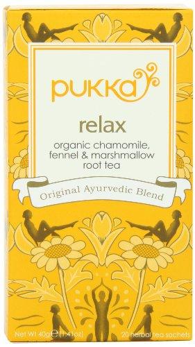 Pukka Relax Vata Tea, 20 sachets