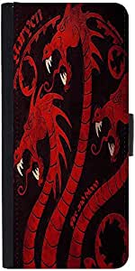 Snoogg Dragon Game 2484 Designer Protective Flip Case Cover For Apple Iphone ...