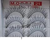 Model 21 False Eyelashes No. 7, 10 Pairs