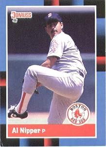1988 Donruss #523 Al Nipper - Boston Red Sox (Baseball Cards)