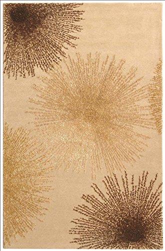 Safavieh Soho Collection SOH712A Handmade Beige New Zealand Wool Area Rug, 2 feet by 3 feet (2