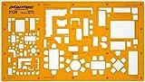 150 et 1100 échelle Trace Gabarit Darchitecte Symboles de Plan détage Disposition des Meubles Mobilier Décoration dintérieurs Dessin Technique Traçage Illustration Architecture Maisons