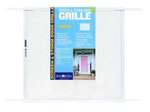 saint gobain adfors 24x26x34 door grill white hardware. Black Bedroom Furniture Sets. Home Design Ideas