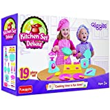 Giggles Kitchen Set Deluxe, Multi Color