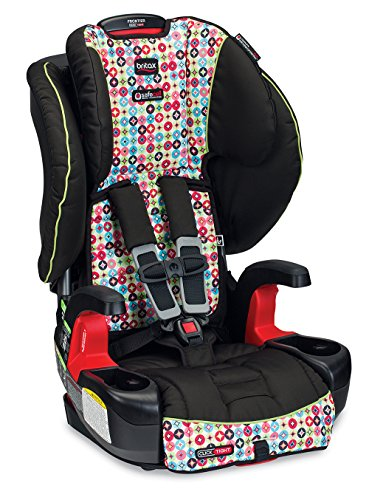 Best Review Of Britax Frontier G1.1 Clicktight Harness-2-Booster Car Seat, Kaleidoscope