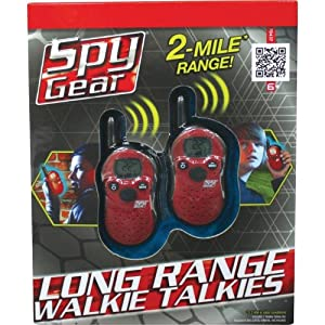 Spy Gear Long Range Walkie Talkies
