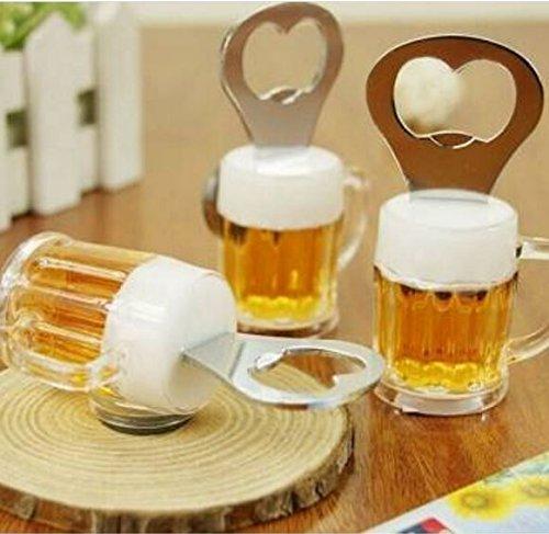 Creative Acrylic Beer Bottle Opener Beer Mug Shape Bottle Opener by STCorps7