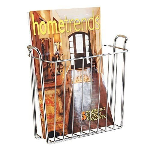 Basket Wall Mount magazines InterDesign Classico 1 Pcs Size 8.98.22.7