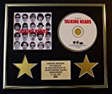 TALKING HEADS/CD DISPLAY/ LIMITED EDITION/COA/THE BEST OF