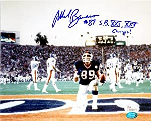 Mark Bavaro autographed 8x10 Photo (New York Giants) Image #86 Super Bowl Touchdown... by Autograph Warehouse