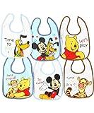 Disney Mickey & Friends 6-Pack Bibs