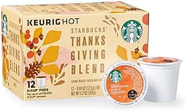 Starbucks Thanksgiving Blend K Cup - 12 Count