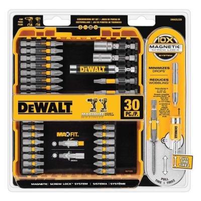 60 PC DEWALT #2 Impact Ready Phillips power bits DW2022IR6 Screw Bits